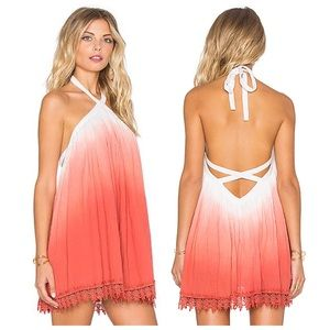 Tularosa | Holden Watermelon Ombré Dress
